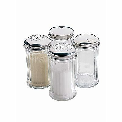 Pourer with 8mm Centre Hole Restaurant Pepper Salt Spice Jar Container Cruet