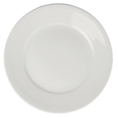 6X Athena Hotelware Wide Rimmed Plates 280mm Service Dinnerware Tableware