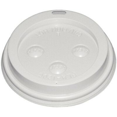 Fiesta Lid For 340ml and 450ml Disposable Hot Cups - Pack of 50 | Plastic