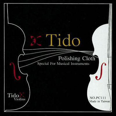 *NEW* Tido Musical Instrument Microfiber Cleaning Cloth - Gentle on Instruments