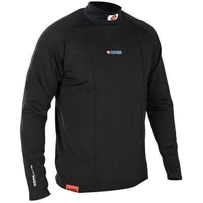 Oxford Warm Dry Motorcycle Base Layer High Neck Long Sleeved Top