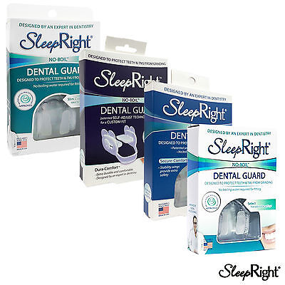 SleepRight SLIM SECURE DURA SELECT Comfort Dental Guard Multi Bruxism FREE UK PP