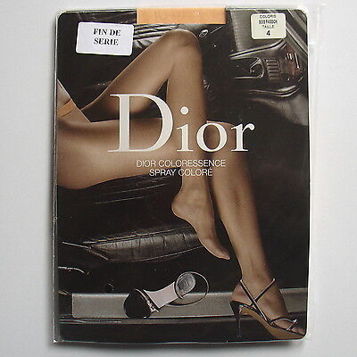 Tights. Collant DIOR COLORESSENCE coloris Bois passion. Taille 4 - 10.