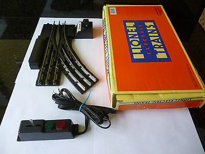 Lionel O Gauge boxed remote controlled point exc cond