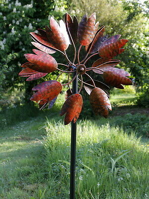 Hampton Wind Spinner / Wind Sculpture in burnished gold finish