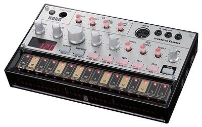 KORG Volca Bass Sequencer Analog Bass Machine VOLCABASS New F/S with Tracking