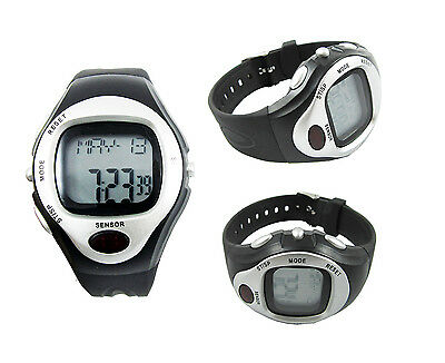 Stopwatch Interval Timer Segment Pulse Rate Monitor Unisex Boxing Sports Yoga