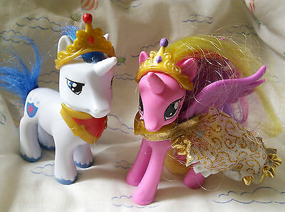 My Little Pony G4 Princess Cadance and Shining Armor Brushables
