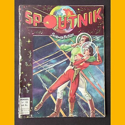 SPOUTNIK N° 22 Science-Fiction PRISONNIERS DE L'AVENIR 1959