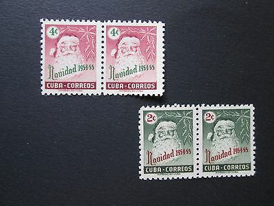 Caribbean Collection of 4 Stamps, Sc # 532 & 533, MNH, High Scv Pairs,  F579