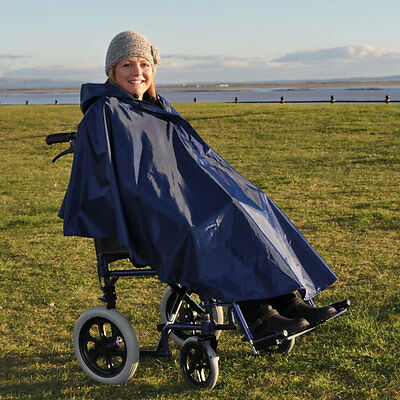 Splash Wheelchair Poncho (Unlined) Universal Size - PR34027