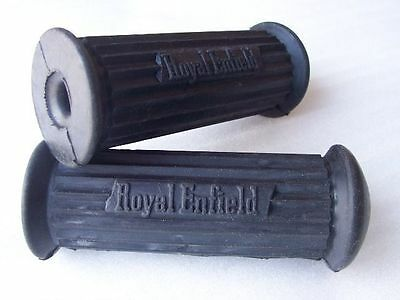New Pair Of ROYAL ENFIELD FOOTREST FOOT PEG RUBBER SET