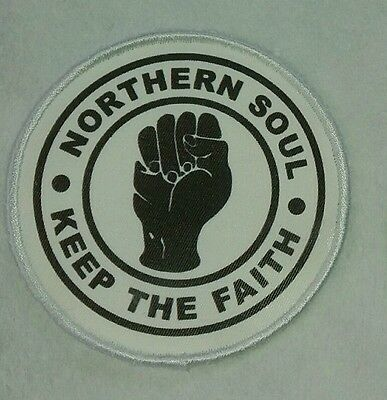 Northern Soul Patch Sew On Patch Free Postage