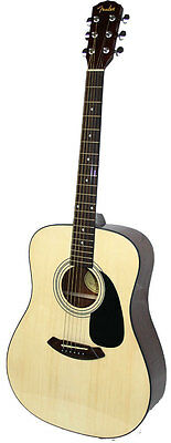 Fender Acoustic Dreadnought Guitar CD-60 NATURAL colour NEW