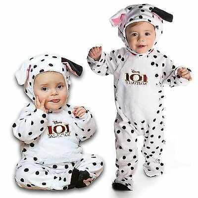 Disney 101 Dalmata Morbido Peluche Tuta Hat Ear Disney Baby Costume