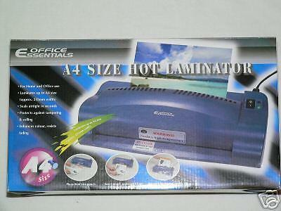 New A4 Laminator Office Essentials Hot Backload Laminating Office Home Free Post