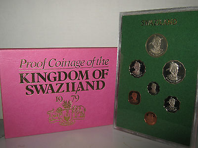 Swaziland proof coin year set 1979