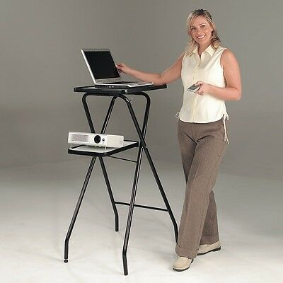 Folding Lightweight Multimedia Projector Stand - ideal for mobile presentations