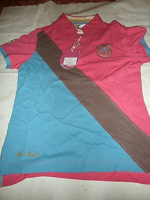 New Just Togs T Shirt Rasp Pink & Aqua Size 16 Xl More Sizes Listed