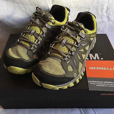 Merrell All Out Blaze Ladies Walking Shoes Size UK 7. New.