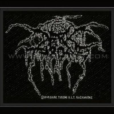 Official Licensed - Darkthrone - Lurex Logo Sew On Patch Metal