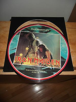 """IRON MAIDEN """"Scaling New Heights With"""" LP NOT ON LABEL IM 01 - PICTURE"""