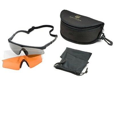 Shooting glasses Revision Sawfly Max Mission Kit Black Size: M