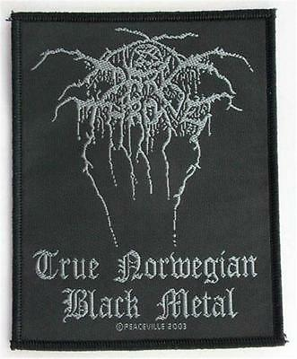 Official Licensed - Darkthrone - True Norwegian Black Metal Sew On Patch Metal