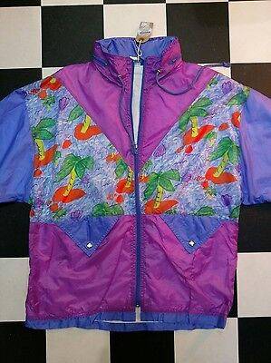 vintage shell suit jacket 80's 90's tracksuit hipster