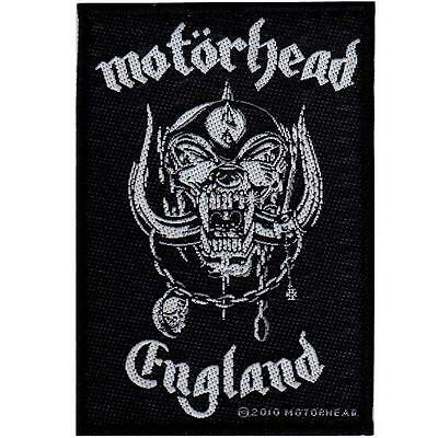 Official Licensed - Motorhead - England Sew On Patch Metal Lemmy