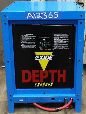 Exide Forklift Battery Charger - 24 Volt - 380AH - 1 Phase (Very Nice Condition)