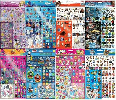 Children's Character Mega Stickers over 150 stickers Party Bag Loot bag fillers