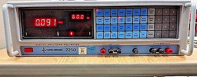 Model 2250 North Atlantic Digital Analyzing Phase Angle Voltmeter