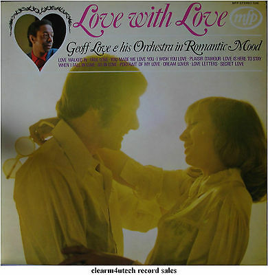 LOVE WITH LOVE - GEOFF LOVE & HIS ORCHESTRA - LP Vinyl Record