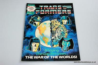 Transformers G1 UK Marvel Comic Issue #68 5th July '86 RARE