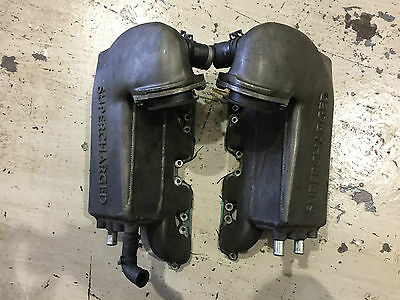 Genuine Jaguar XJR X308 Intake Manifold Inlet Charge Air Coolers AWJ (WB1)