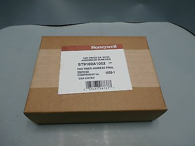 New Honeywell ST9103A1002 Electronic Fan Control Timer for Oil Furnaces