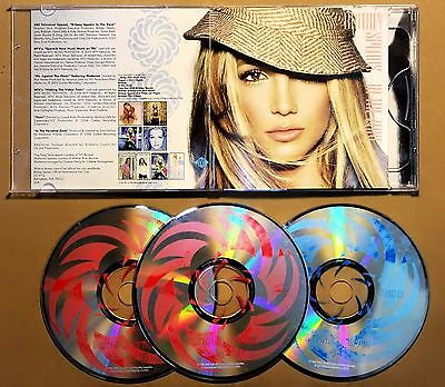 Britney Spears - In the Zone (3 Disc Edition) Thailand VCD + Exclusive Bonus CD