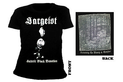 SARGEIST - satanic black devotion Girlie Shirt