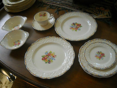 10 pcs of Adam Antique by Steubenville china ...good condition