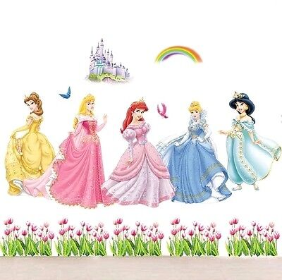 disney princess fairy extra large wall sticker decal children/kids bedroom