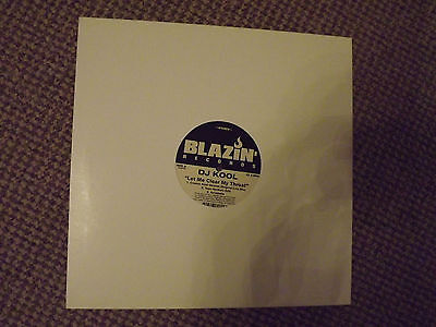 "DJ Kool - Let me clear my throat 12"" vinyl single"