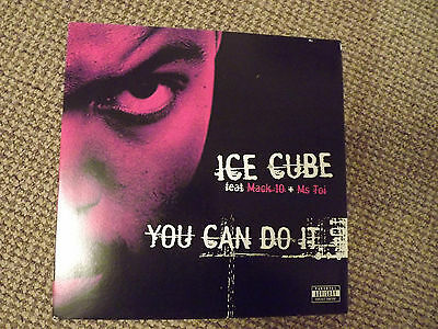 "Ice Cube - You can do it 12"" vinyl single"