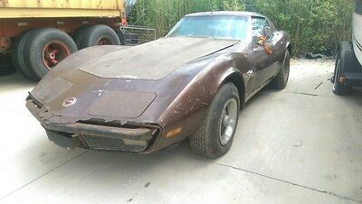 1974 Chevrolet Corvette - C3 - V8 350 cu in - Project car - T Top