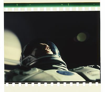 Interstellar 70mm IMAX Film Cell - Coop is Rescued - Saturn (1049)