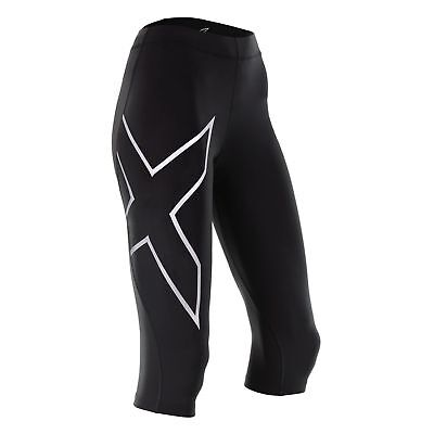 New 2XU Men Compression 3/4 Tights Gym Train Race ALL SIZES * FREE SHIPPING