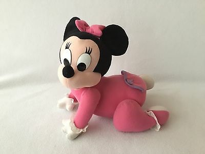 Vintage Disney Baby Minnie Mouse Touch & Crawl 1995 Mattel Toy