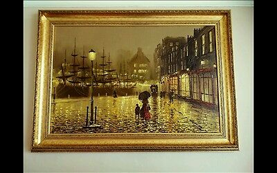 Contemporary Art  Oil on Canvas JOHN BAMPFIELD  Authentic Original