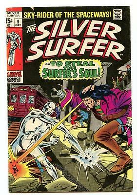 Silver Surfer #9 (1969) Marvel 2.0/2.5 G/G+