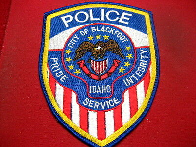US Police Patch Idaho,City of Blackfoot